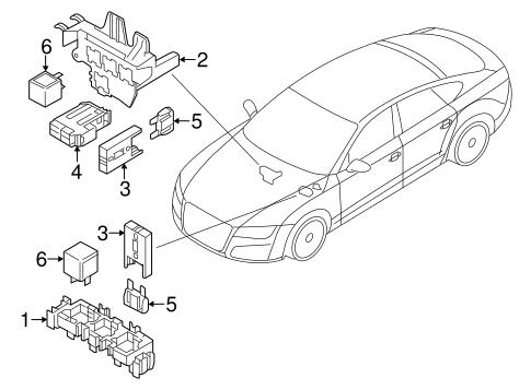 Fuse Relay For 2016 Audi A7 Quattro