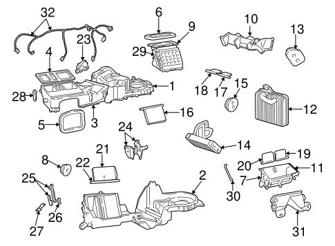 Heater for 1999 Jeep Grand Cherokee | Mopar Parts