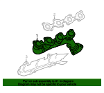 Exhaust Manifold - Toyota (17105-50190)