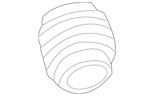 nissan air tube  16578