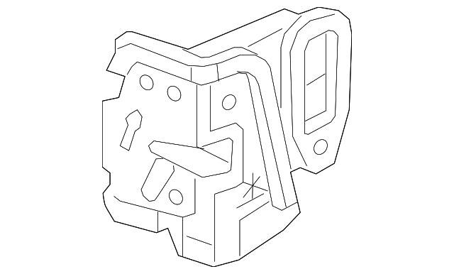2015 cadillac lock assembly 13592282