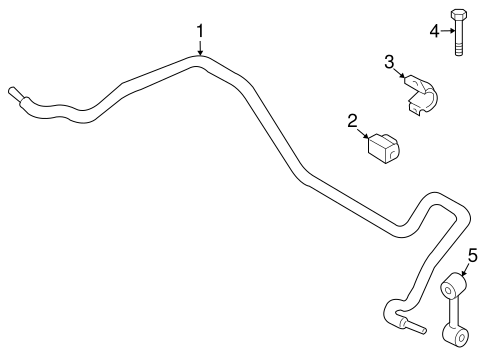 Stabilizer Bar Components For 2014 Bmw Z4