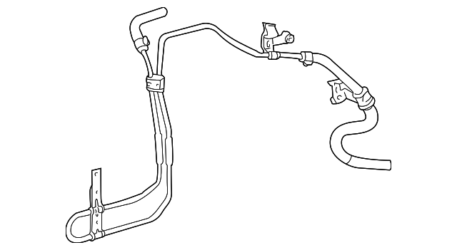 power steering return line