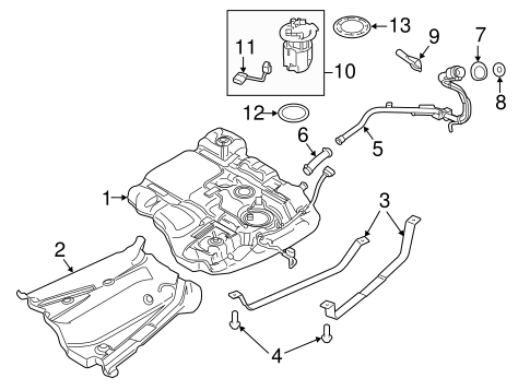 2013 Ford Edge Radiator Fan Diagram