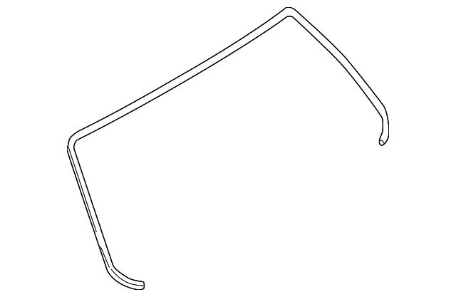 65058FE010 Subaru Molding f 4d 65058FE010