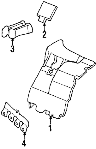 1967 cadillac eldorado wiring diagram fuse & relay parts for 1999 cadillac eldorado #14