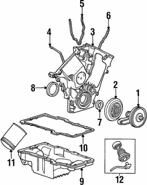 2001 mercury sable engine diagram 1997 mercury sable engine diagram engine parts for 1997 mercury sable | ford auto parts
