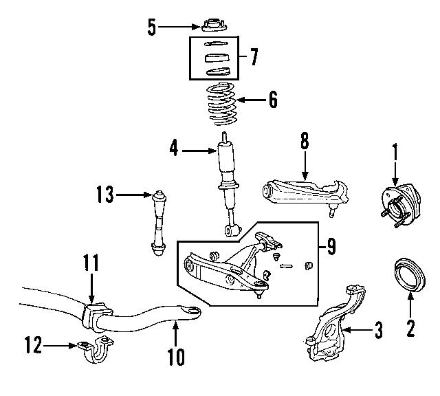 2006 2019 Ford Stabilizer Bar Bracket 6l2z 5486 Aa