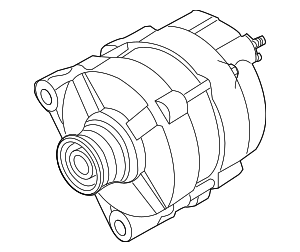 Alt Assembly Remanufactured - Nissan (2310M-3RZ1ARW)