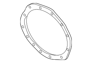 Cover Gasket - GM (22943110)