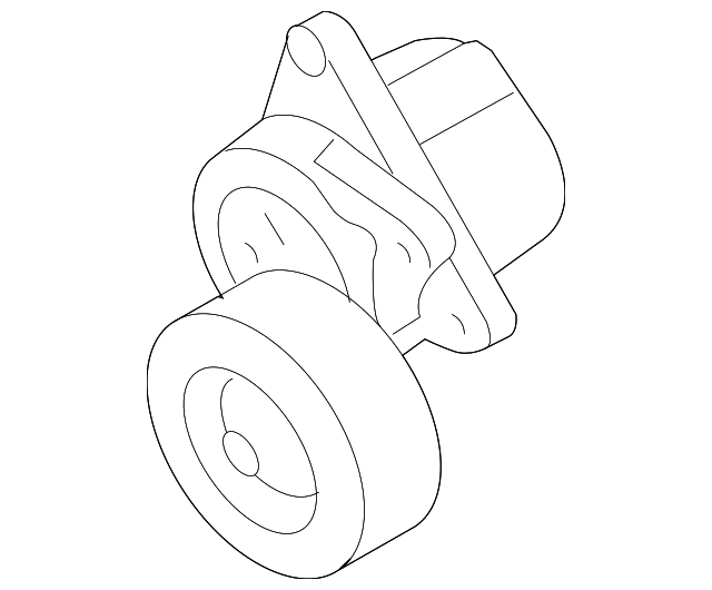 Serpentine Tensioner
