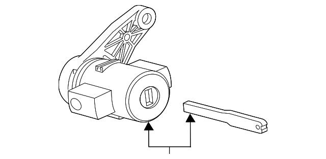 2015 2019 Jaguar F Type Lock Cylinder T2r16431