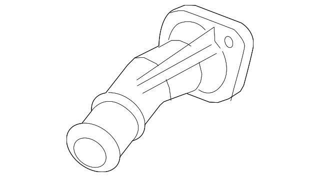 Kia 25631-2E100 Engine Coolant Thermostat Housing