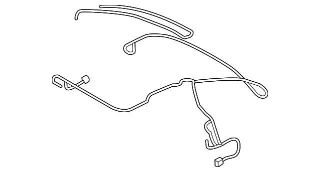 audi wire harness  8s7