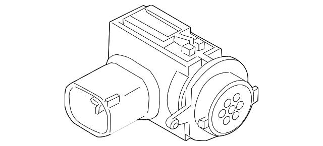 2007 2009 Mini Cooper Air Temp Sensor 64 11 9 240 180