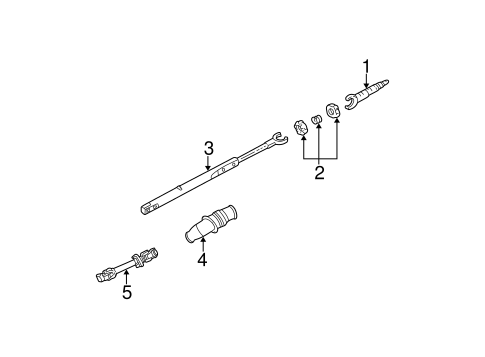 Shaft Internal Components For 2001 Buick Park Avenue