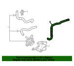 Hose, Radiator Outlet - Acura (1J401-R9S-000)