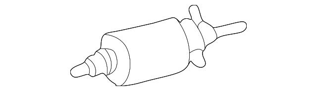 fuel filter - mercedes-benz (163-477-07-01)