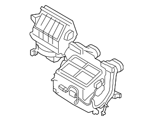 AC & Heater Assembly - Land-Rover (LR032288)