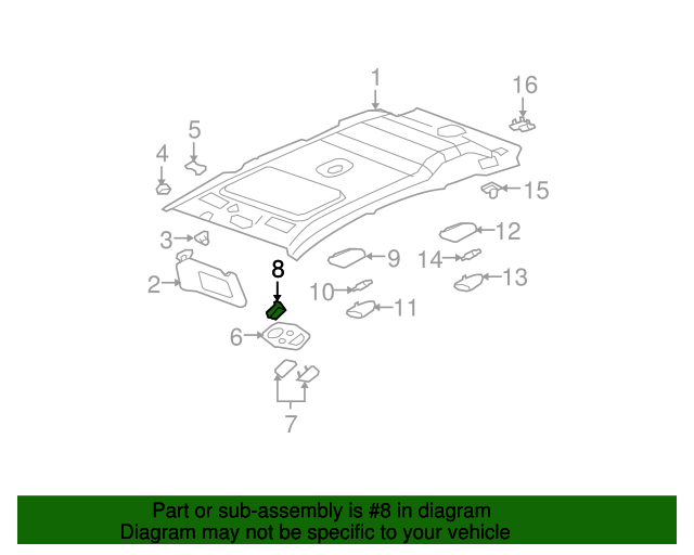 Sunroof Switch - GM (22723352) | GMPartsDirect.com on mirror diagram, rim diagram, windshield diagram, power diagram, wheels diagram, bluetooth diagram, 2004 f150 parts diagram, trap diagram, auto diagram, 2004 ford f-150 parts diagram, remote start diagram, heater diagram, front diagram, steering diagram, abs diagram, a/c diagram, awd diagram, fan clutch diagram, radio diagram, 4x4 diagram,