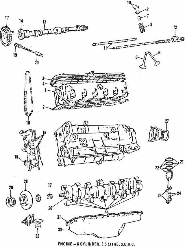 1988-1993 BMW Cylinder Head 11-12-1-707-150 | Germain BMW Parts