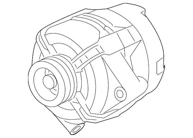 2007 2009 Pontiac G6 Alternator 25787950