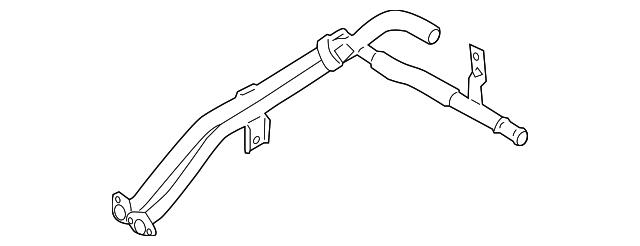 Genuine Hyundai 25470-2C400 Heater Pipe Assembly