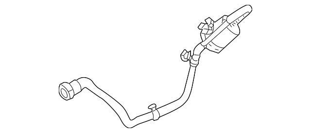 volvo fuel filter  8621294