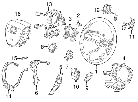 Exhaust in addition Mouli  Abu Garcia moreover 2l96k Diagram Available Online Door Actuator Replaced further Door Lock Mechanism Diagram additionally Cartoon Black And White Living Room. on honda pilot door parts