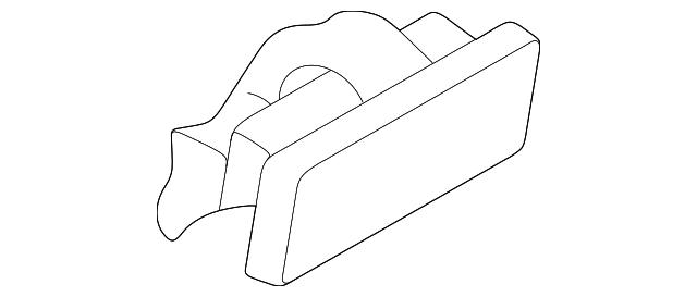 LOWER BOTTOM GLOVE BOX LATCH for MITSUBISHI SHOGUN MK3 3.2 DID 3.5 GDI 2000-2006
