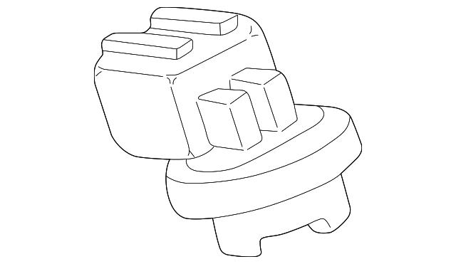 2000 2003 Toyota Tundra Socket 81275 04010