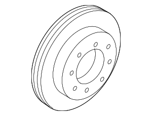 Rotor - Ford (8C2Z-2C026-C)