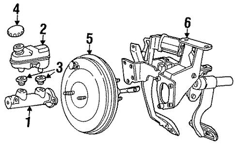 2000 Lincoln Town Car Signature Fuse Boxpower Windowinopcompass