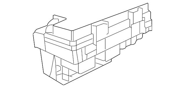 volkswagen fuse  u0026 relay box  7b0
