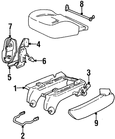 Rear Seat Components For 2001 Ford Windstar