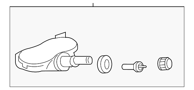 genuine honda tire pressure sensor 42753