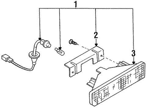 Diagram 1990 Nissan 240sx