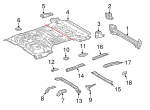 Side Rail - Toyota (57601-60180)