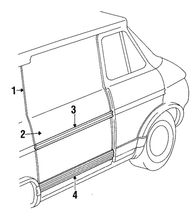 1984 1996 Gm Door Shell 15724916
