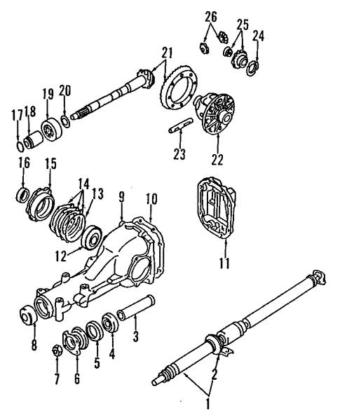 differential for 1992 subaru svx #0