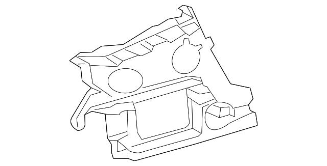 2012 2015 Audi Upper Guide 4g5 807 393 A