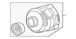 Alternator - Ford (6L2Z-10346-BARM1)