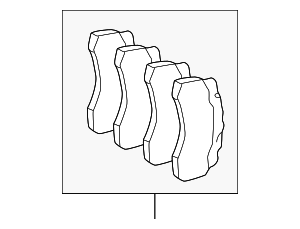 Brake Pads - Mercedes-Benz (003-420-89-20-41)