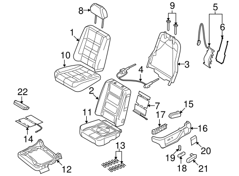 Electrical Power Seats