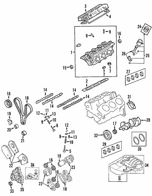 engine parts for 2002 land rover freelander land rover Land Rover Discovery 2 Engine Diagram