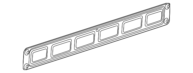 GM OEM Tail Gate Tailgate Hatch-Lock Rod 23124450