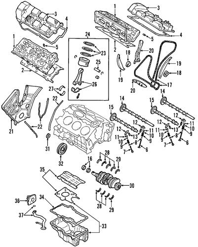Genuine Oem Mazda Exhaust Parts Realmazda