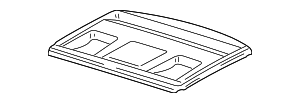 Package Tray - Mercedes-Benz (202-690-01-49-7D18)