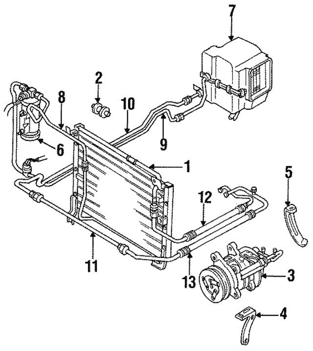 Hose Mazda Ue54614g2: 1991 Mazda B2200 Vacuum Diagram At Downselot.com