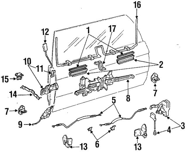 1990 1991 Toyota 4runner Motor 85710 89105